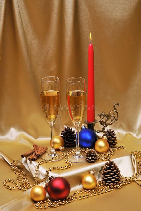 Download Pane tostato di Champagne immagine stock. Immagine di bevanda - 7310319