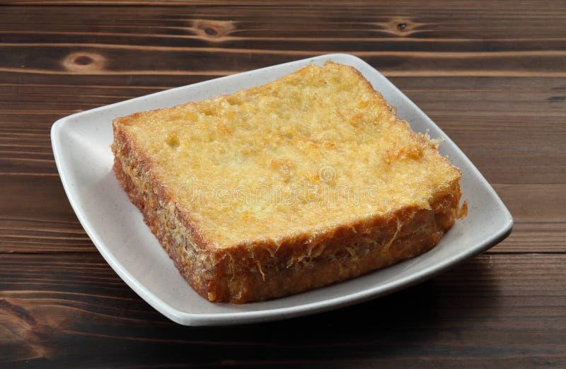 Pane tostato francese immagine stock libera da diritti