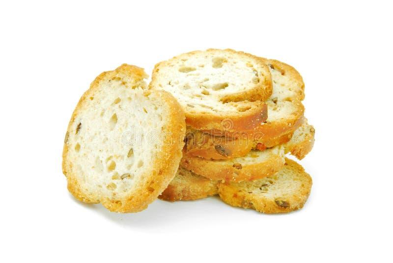 Pane tostato piccante del pane fotografia stock