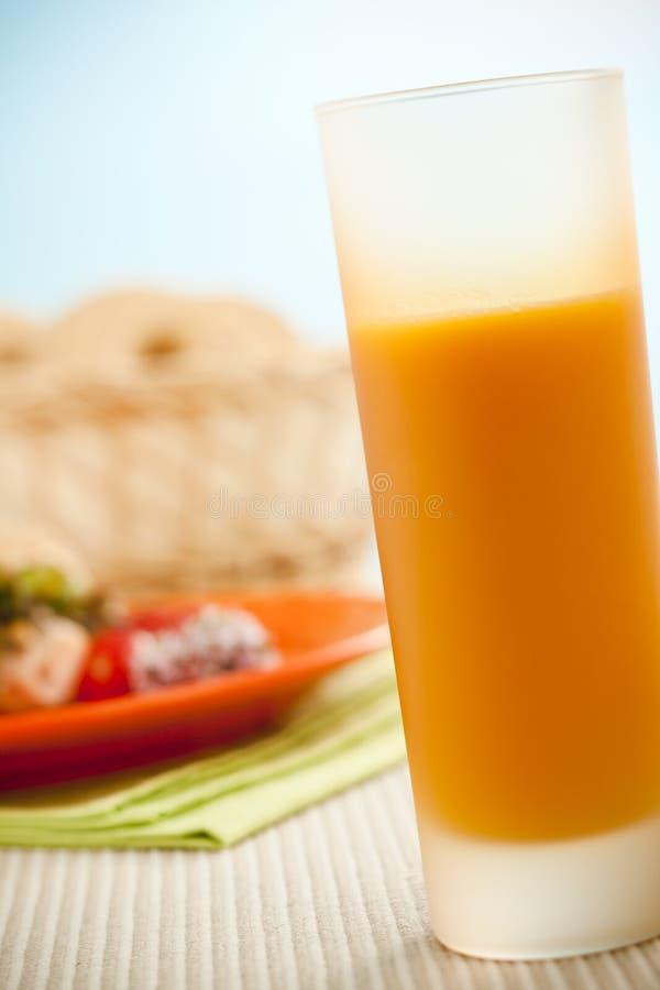 Panecillo del desayuno foto de archivo libre de regalías