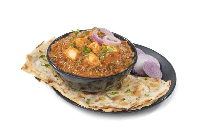 Paneer curry royaltyfri bild