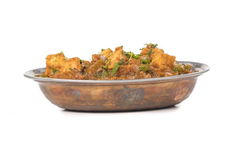 Paneer curry arkivfoto