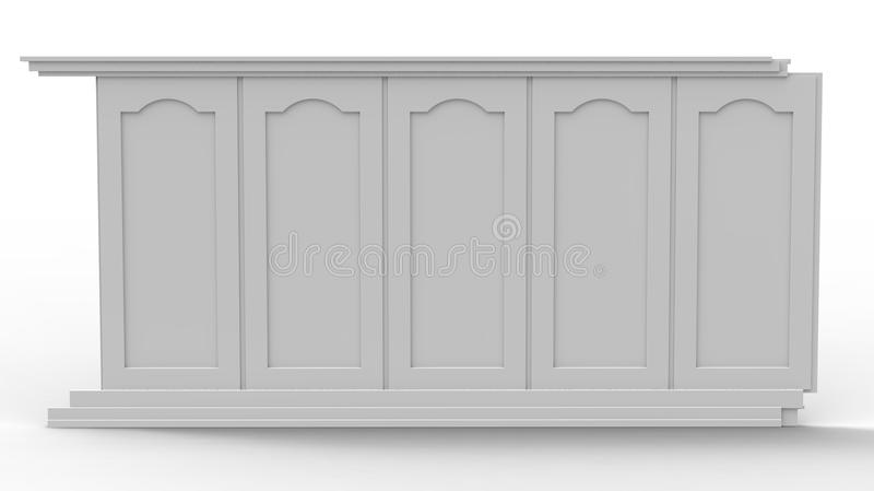 Download The panel stock illustration. Image of modern, painting - 19956723