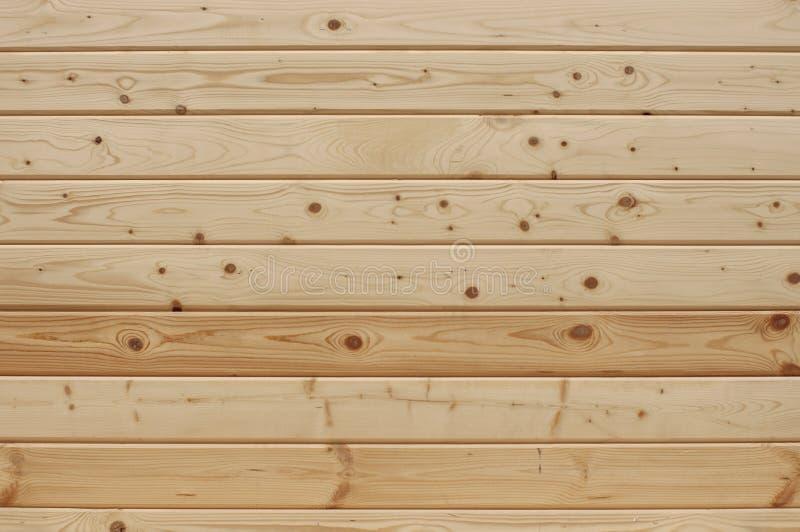 Panel av texturerat trä för bakgrunden av naturlig färg, unpainted_ arkivfoto