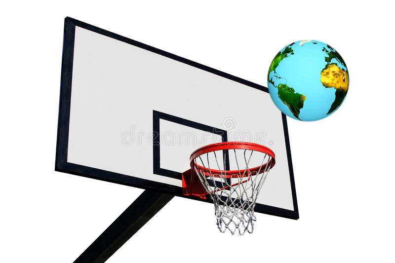 A Panel Of Basketball Royalty Free Stock Photo