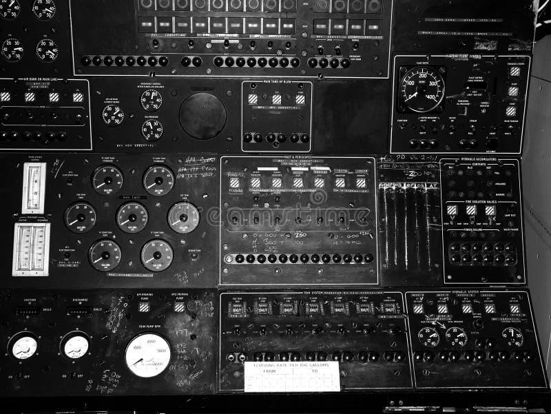 Panel de control  imagen de archivo