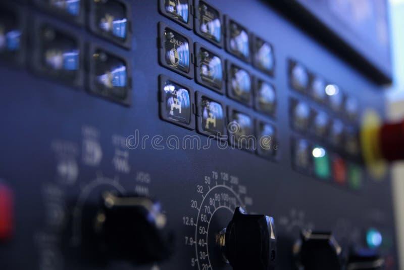 Panel de control. fotos de archivo libres de regalías