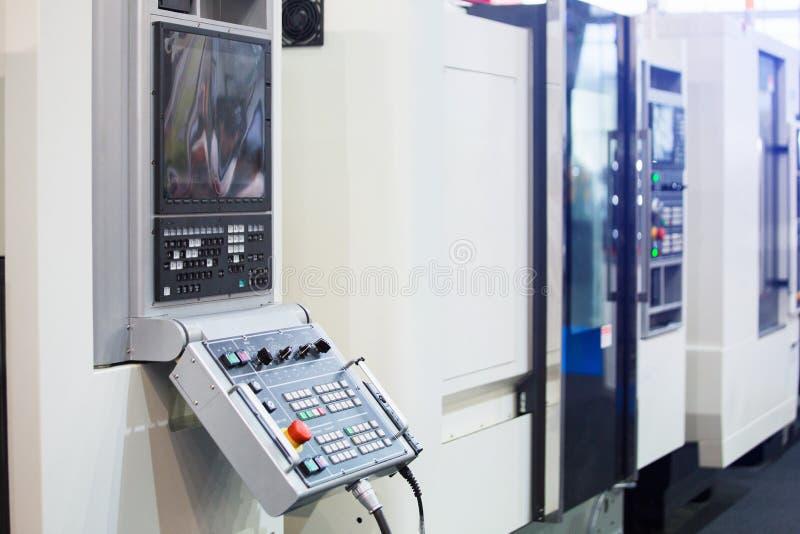 Panel de control automático de la máquina fotos de archivo