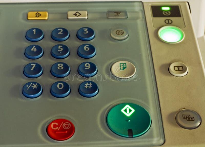 Panel de control de de múltiples funciones imagenes de archivo