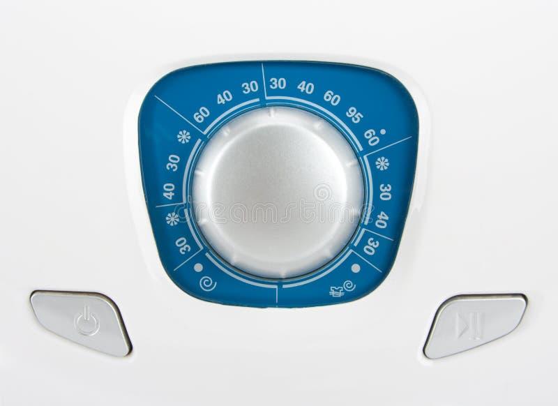 Panel de control de la lavadora imágenes de archivo libres de regalías