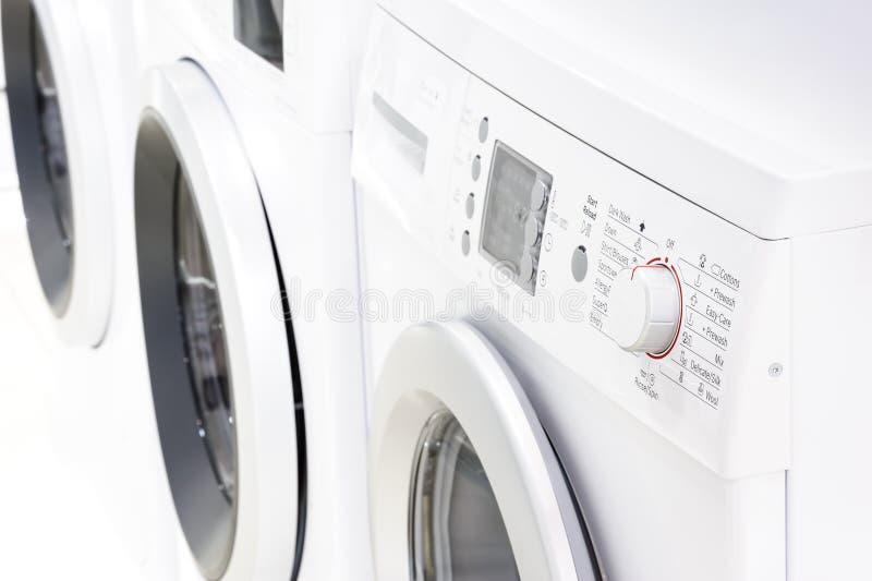 Panel de control de la lavadora fotos de archivo libres de regalías