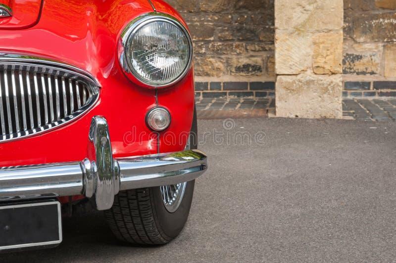 Panel de delante retro del coche imagen de archivo