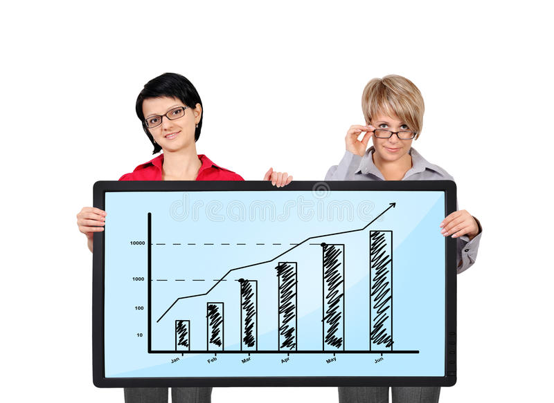 Download Panel with graph stock photo. Image of display, panel - 31863950