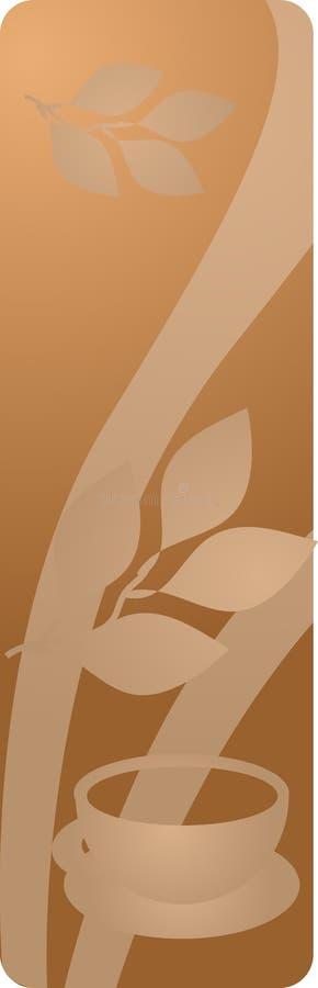 panel herbaty drinka ilustracji