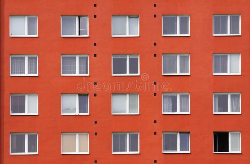 Panel house royalty free stock photography