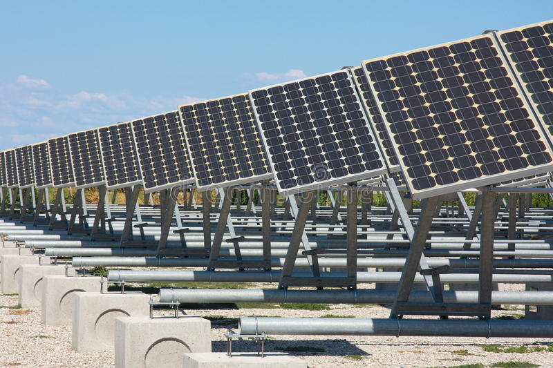 Panel photovoltaic royalty free stock photography