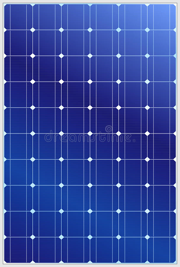 Panel słoneczny royalty ilustracja