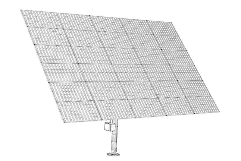 Panel słoneczny technologia obrazy royalty free