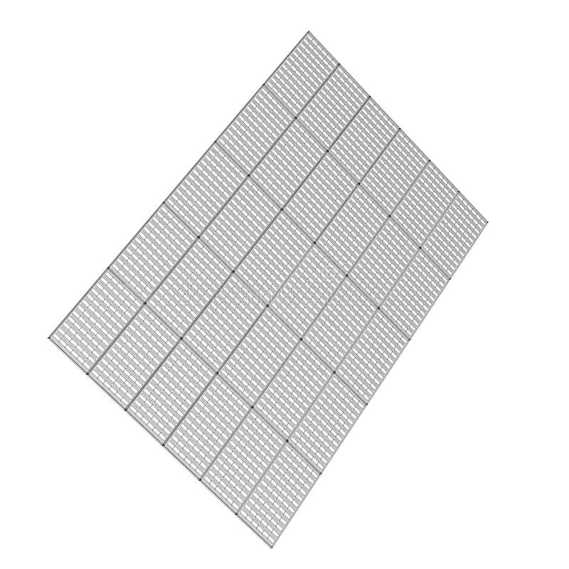 Panel słoneczny technologia zdjęcie stock
