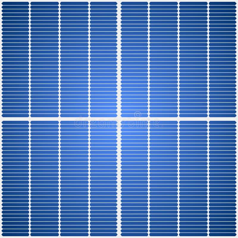 Panel słoneczny tekstura ilustracji