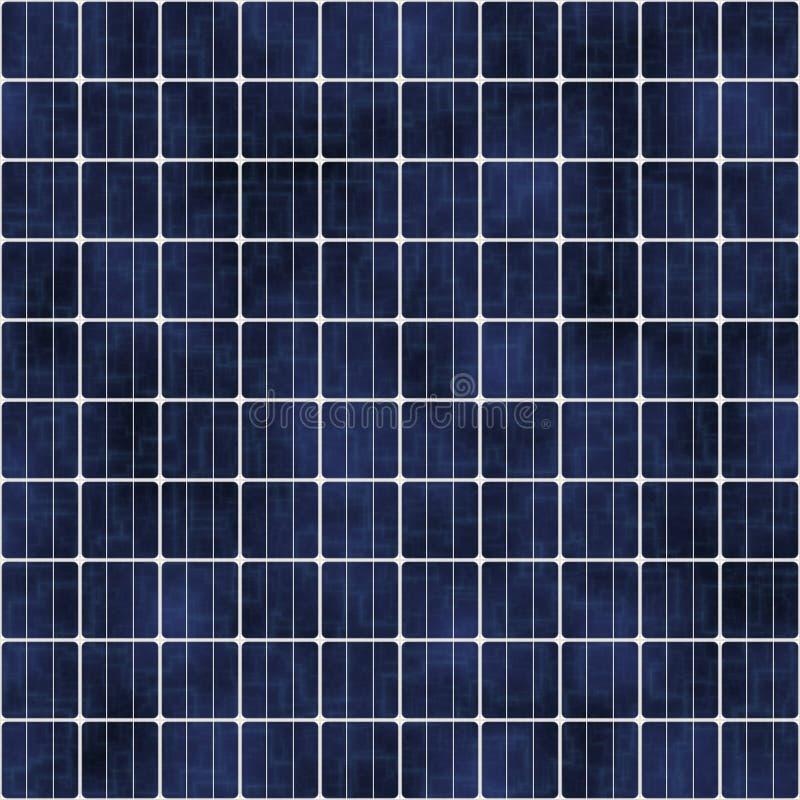 Panel słoneczny, tekstura Energia odnawialna, energetyczny źródło Photovoltaic panel słoneczny absorbują światło słoneczne wytwar royalty ilustracja