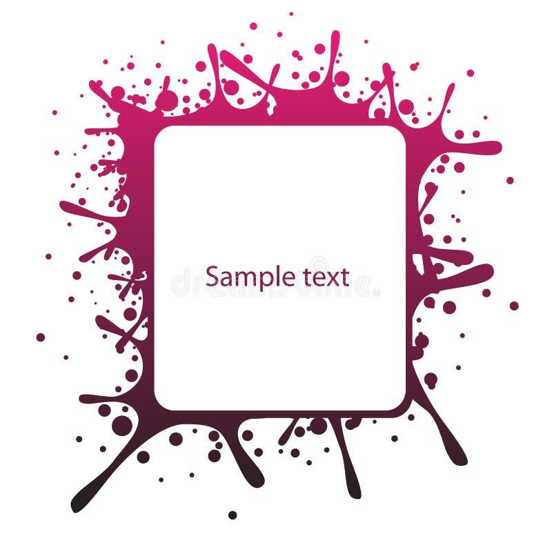 panel tekst abstrakcyjne ilustracja wektor
