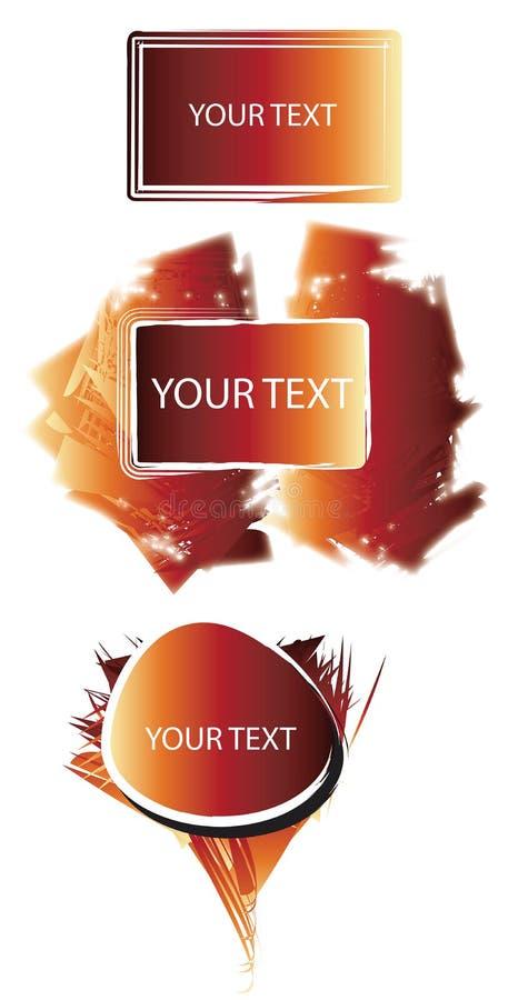 panel tekst abstrakcyjne ilustracji
