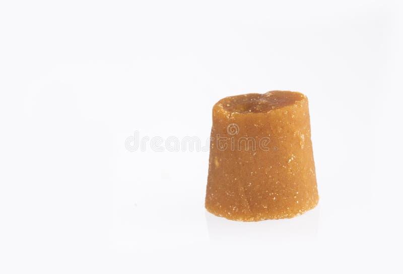 Panela lub trzcina cukrowa cukierek - Saccharum officinarum Tekst przestrze? obraz stock