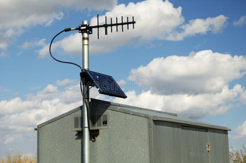 panele słoneczne zdjęcia stock
