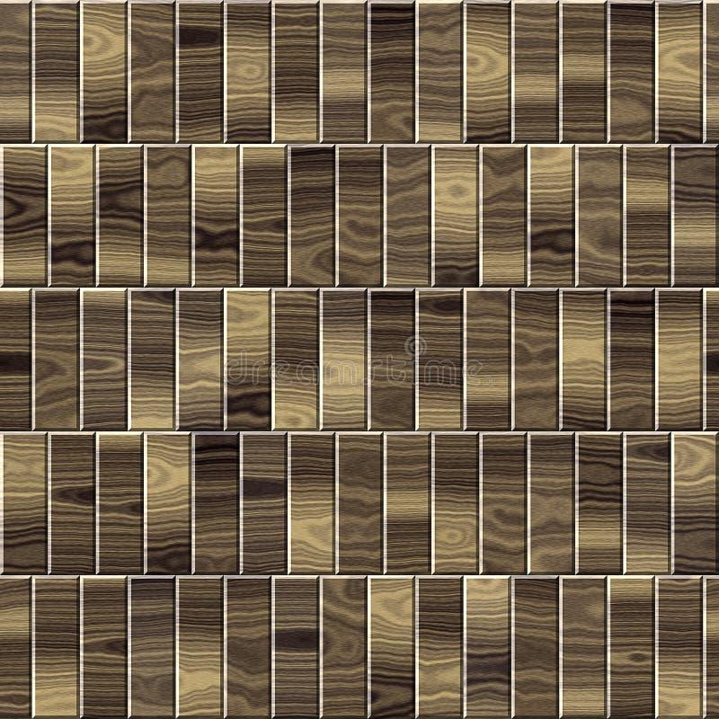 Paneling de madeira para o fundo sem emenda imagem de stock royalty free