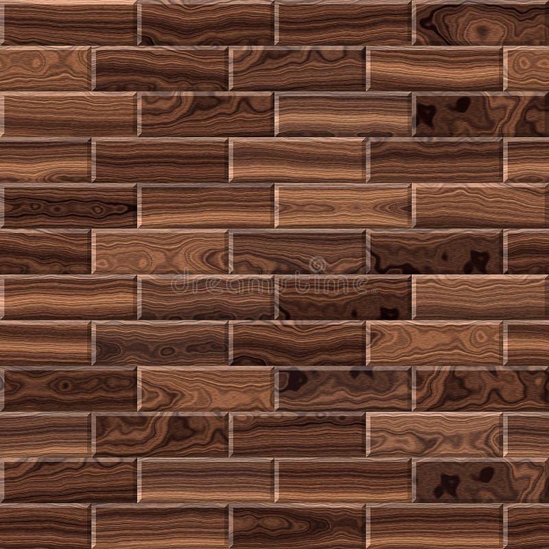 Paneling de madeira para o fundo sem emenda foto de stock royalty free