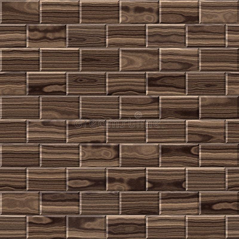 Paneling de madeira para o fundo sem emenda fotos de stock royalty free