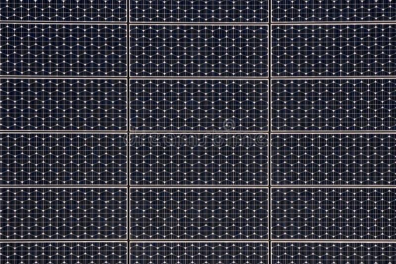 panels sol- arkivbild