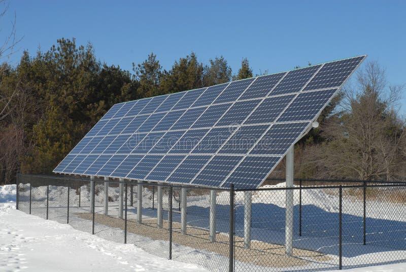 panels sol- royaltyfri foto