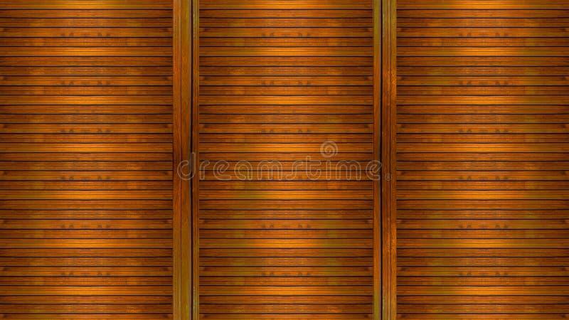 Panelu drewniany tło fotografia royalty free