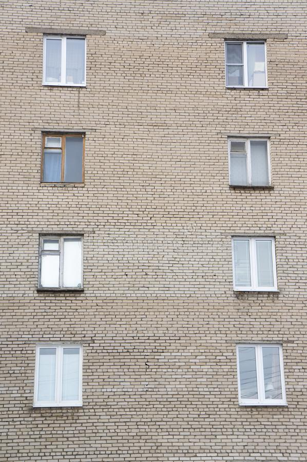 Panelu mieszkania dom, blok mieszkalny obrazy royalty free