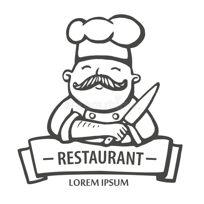 panera kallat klippa restaurangen för fotoet för mrcajevcien för meat för logoen för festivalmatkupusijadaen sex tabeller taget R vektor illustrationer