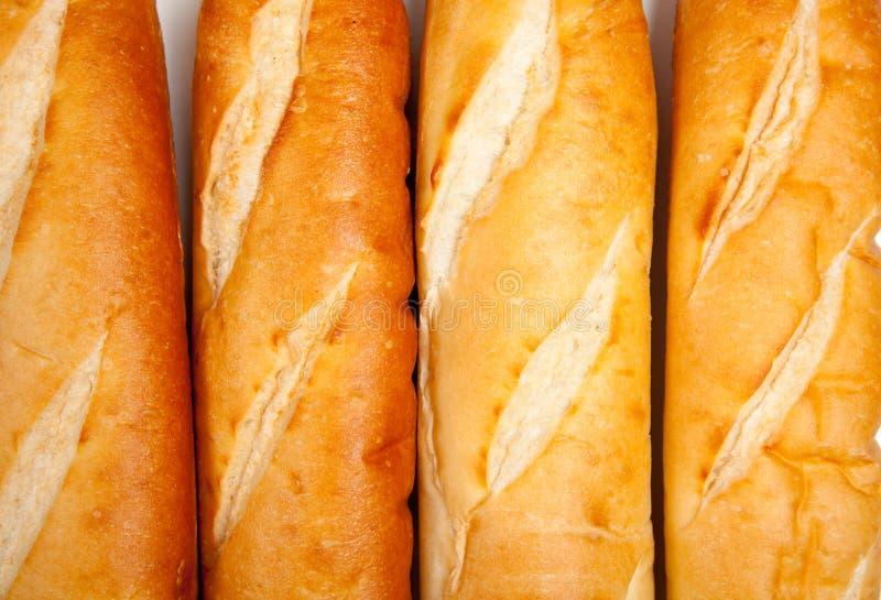 Panes del pan francés fotografía de archivo libre de regalías