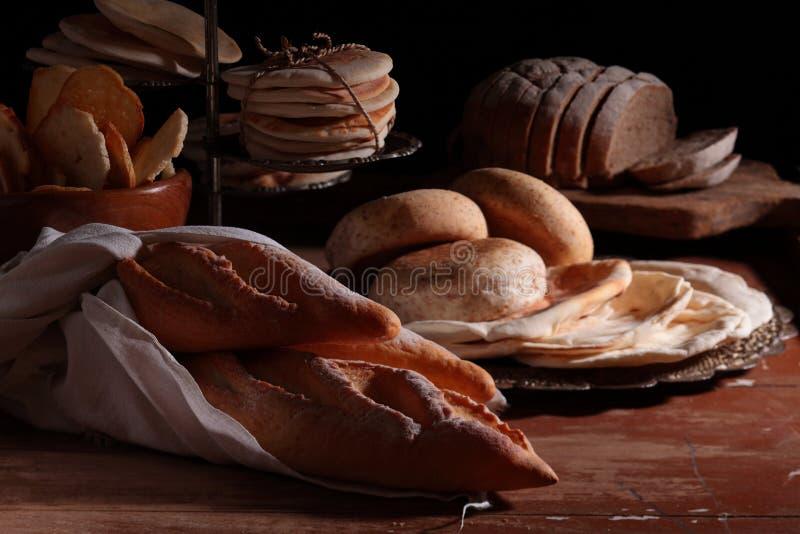 Panes en un vector fotografía de archivo