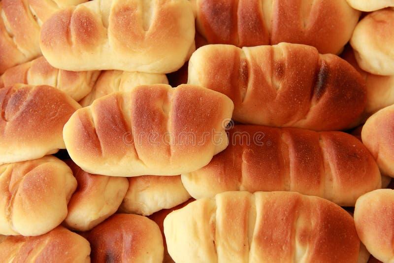 Panes recientemente cocidos al horno fotografía de archivo