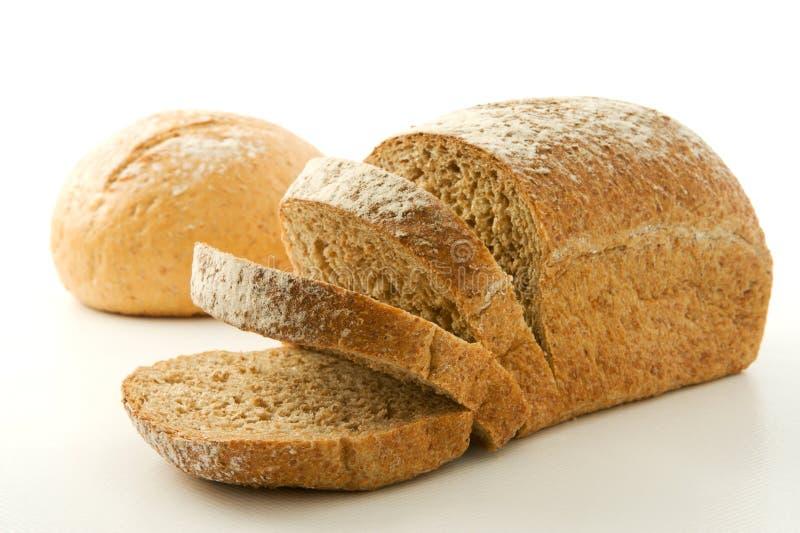 Panes sanos del trigo integral fotografía de archivo libre de regalías