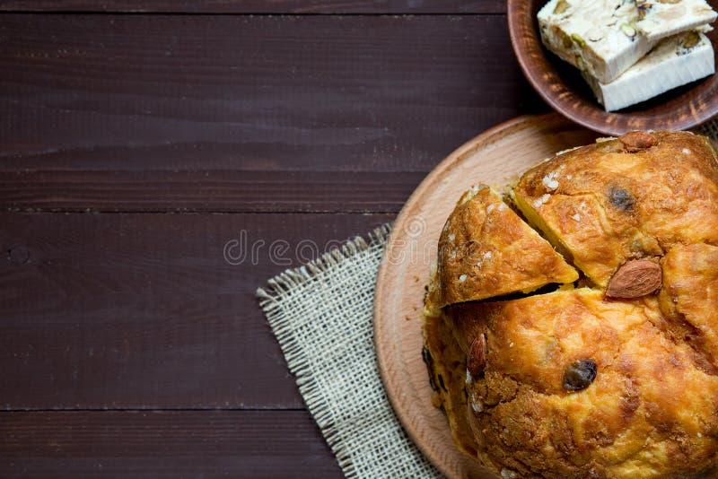 Plum cake casalingo festivo di festa fotografia stock for Casa tradizionale tedesca