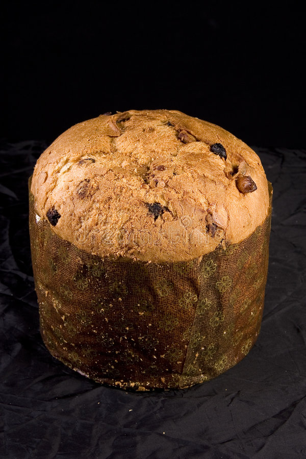 Panettone Christmas bread royalty free stock photography