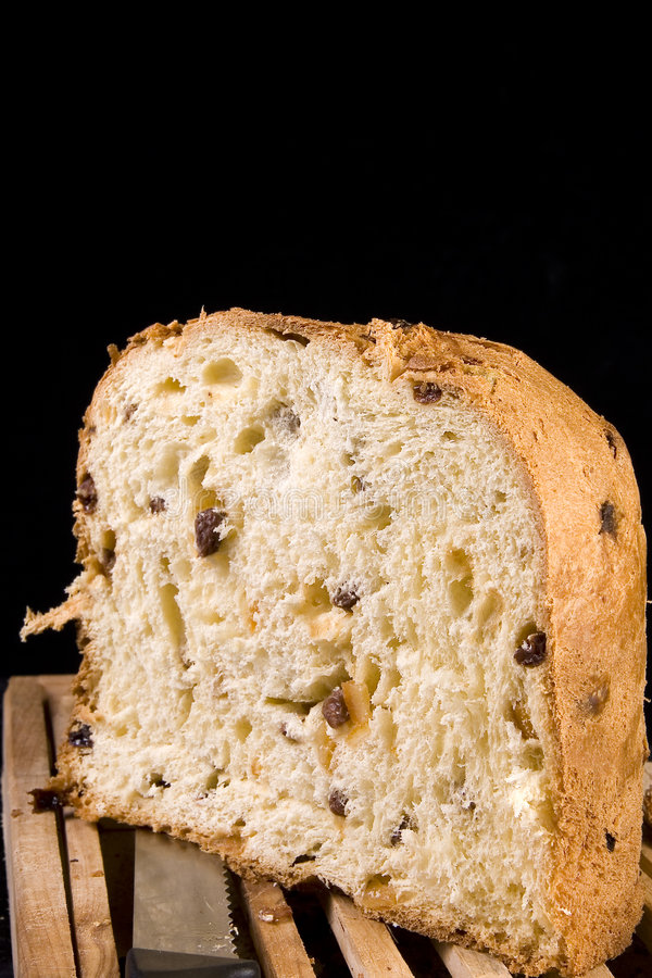Panettone pastry royalty free stock image