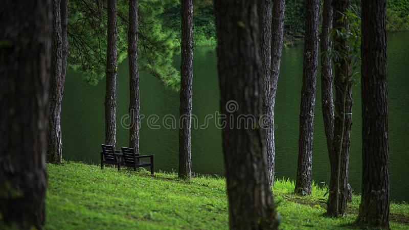 Pang Ung Resting Place arkivfoto