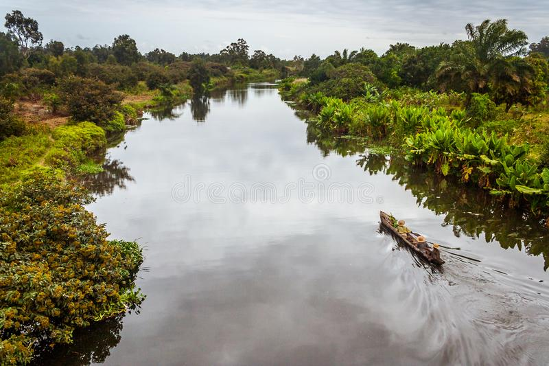 The Pangalanes Canal royalty free stock images