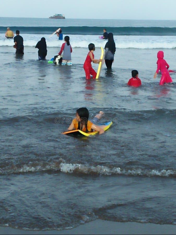 Pangandaran beach in indonesia. Pangandaran beach indonesia jawabarat pesonaindonesia royalty free stock images