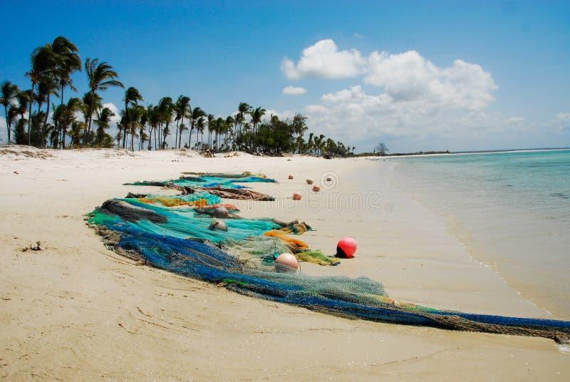 Pangane Beach Royalty Free Stock Photos