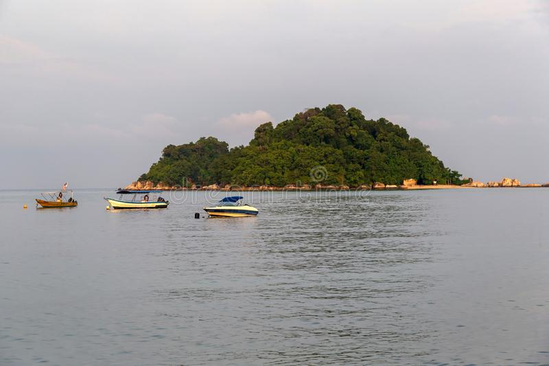 Pangkor ö, Perak Malaysia royaltyfri fotografi