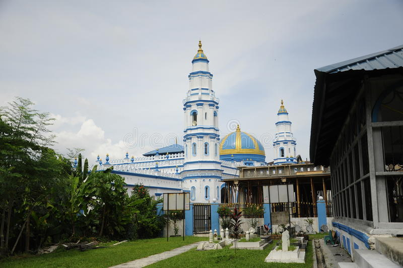 Panglima Kinta Mosque dans Ipoh Perak, Malaisie photos stock